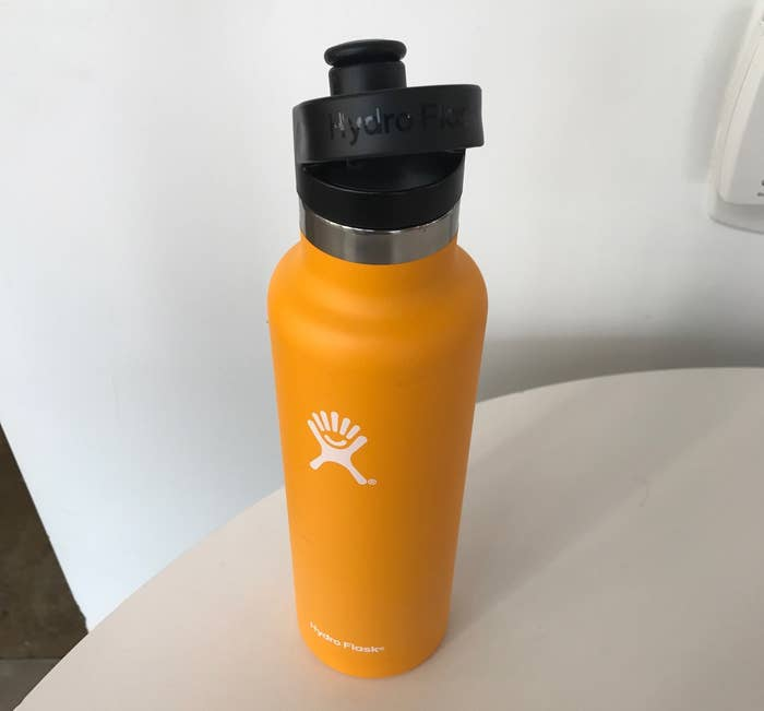 df94b212a1 I literally get out of bed in the morning excited to use this water-bottle/insulated  angel. It has a convenient carry handle on the lid, comes in standard ...