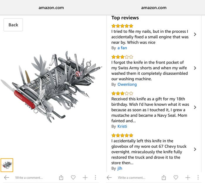 17 Outrageous Amazon Reviews That Will Make You Whisper To