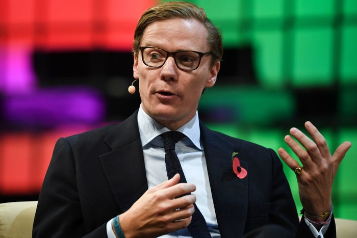 Alexander Nix has been suspended as Cambridge Analytica CEO.