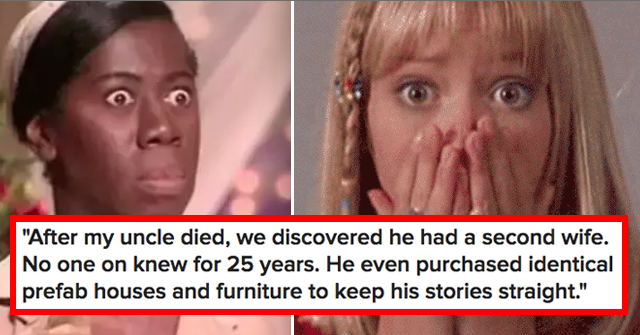 15 Real-Life Family Secrets That'll Actually Make Your Jaw Drop