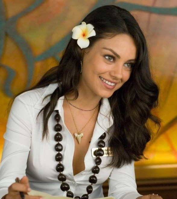 Mila Kunis (Rachel Jansen) - Then:  In 2008, Mila also starred in the movies  Max Payne  and  Boot Camp . She was on year six of her eight year relationship with Macaulay Culkin and was on her sixth year of voicing Meg Griffin on  Family Guy , which she still does today.