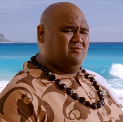 Taylor Wily (Kemo) - Then: Forgetting Sarah Marashall  was Taylor's first acting role since appearing in an episode of  North Shore  in 2004. Now:  He's a series regular on  Hawaii Five-0 , having played the character Kamekona since 2010.