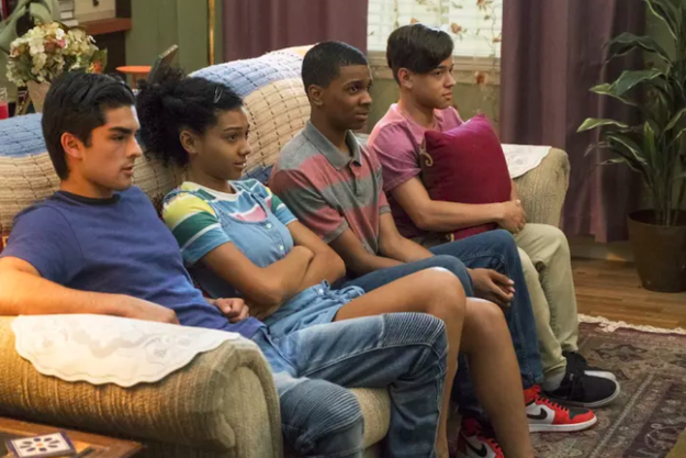 When the show premiered in March, On My Block was lauded for its positive representation of young people of color on TV. The show stars Sierra Capri (Monse), Diego Tinoco (Cesar), Jason Genao (Ruby), and Brett Gray (Jamal).