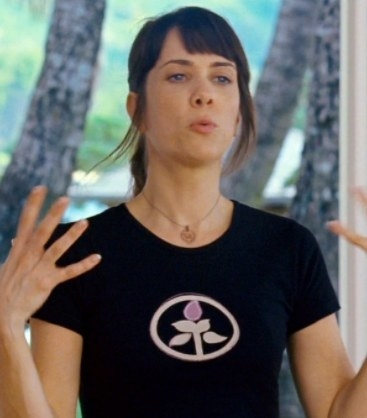 Kristen Wiig (Yoga Instructor) - Then:  In 2008, Kristen was on her third season of  SNL . Her hilarious cameo in  Forgetting Sarah Marshall  was one of many that year, including  Semi-Pro  and  Ghost Town .