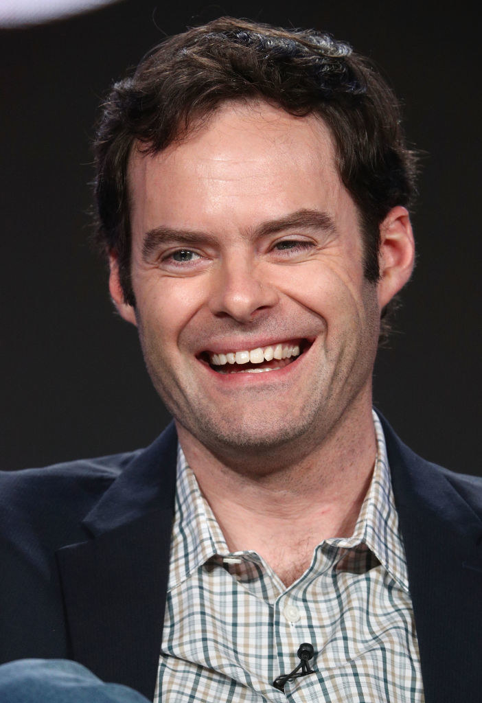 Bill Hader (Brian Bretter) - Then:  In addition to playing Peter's overbearing brother in  Forgetting Sarah Marshall , Hader made appearances in  Tropic Thunder  and  Pineapple Express  in 2008. He was also on his third year of being an  SNL  cast member.