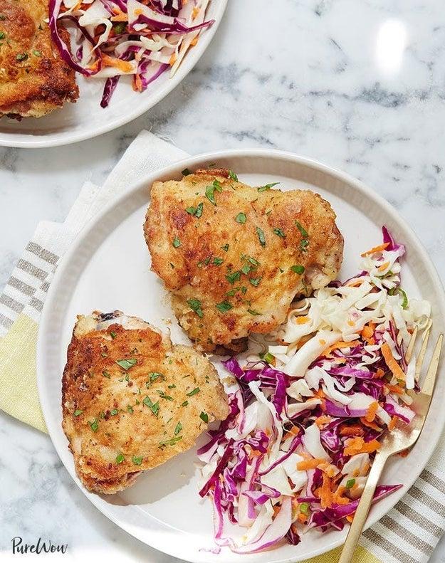 Parmesan Ranch Chicken Thighs