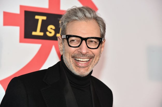 I think I speak for everyone in the universe when I say we're all LIVING for Jeff Goldblum's comeback.