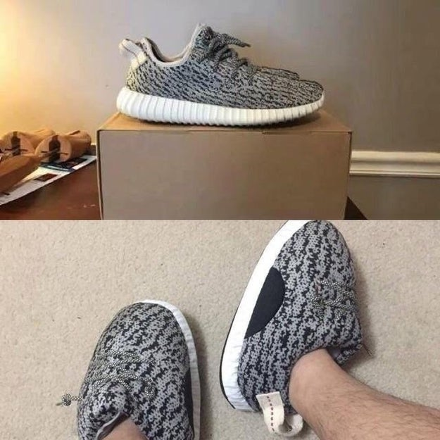 So you don't end up with Yeezys that look like an overweight sponge: