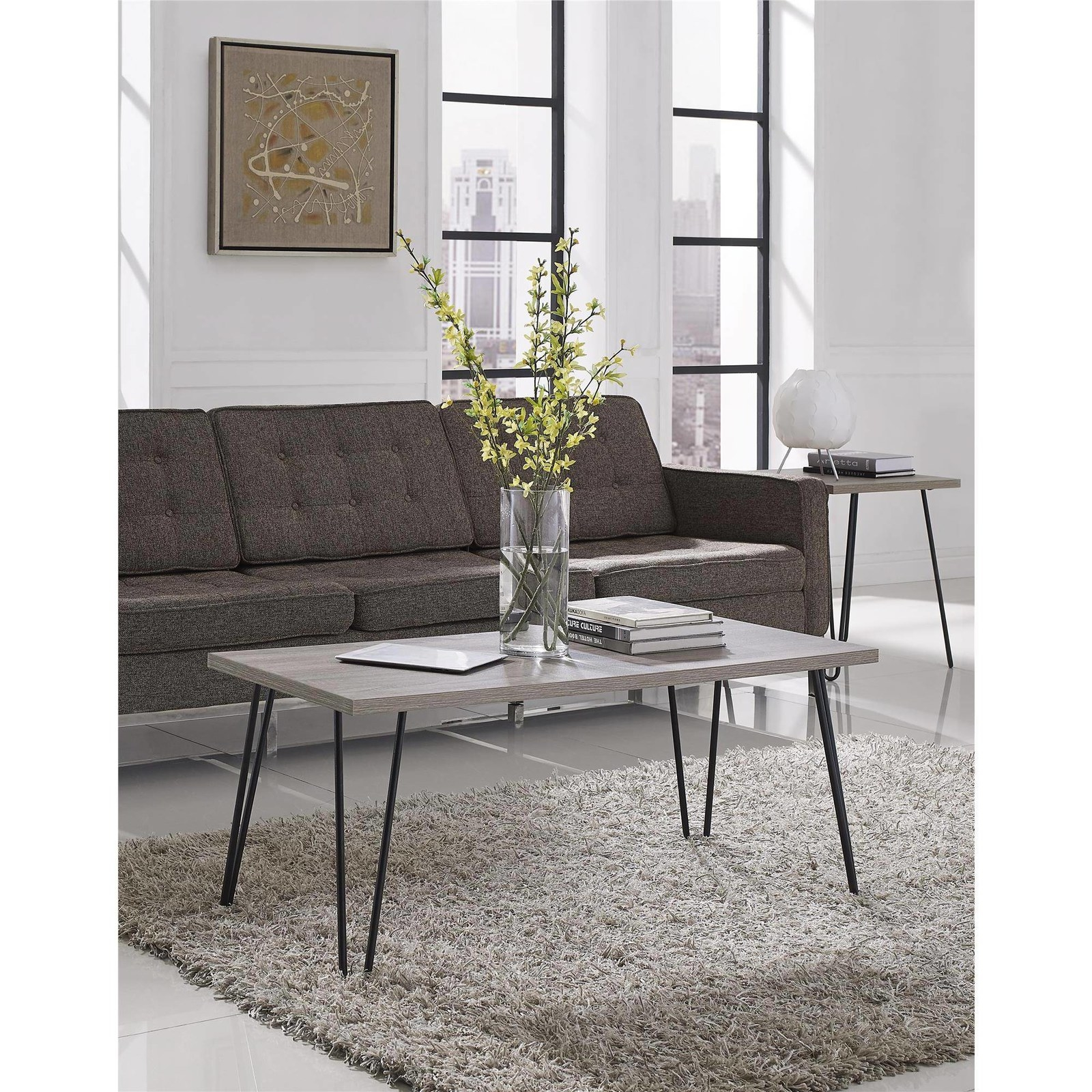A Coffee Table With Hairpin Legs At A Hair Raising Good Price.