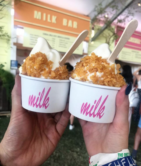 This cereal milk soft serve: