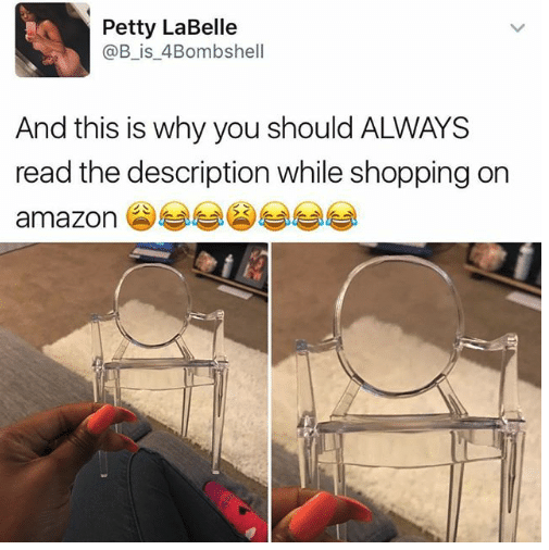 So you don't end up with a chair for ANTS: