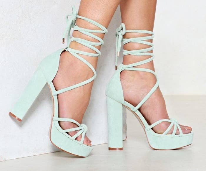 Get them from Nasty Gal for $36 (available in sizes 5–11).