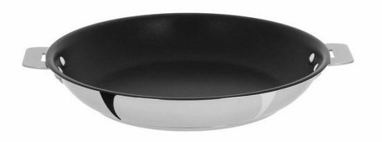 "And an 11"" triple-layer multiply non-stick frying pan so you can cook like a real professional."