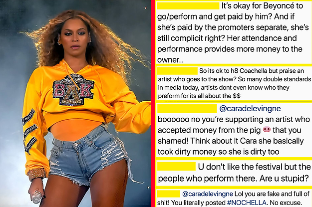 Cara Delevingne Was Criticised After She Praised Beyoncé's