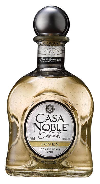 Craving a higher-quality, superior tequila, Casa Noble is one of the first to distill tequila three times to achieve the purest, smoothest tequila in the market. Casa Noble Joven has notes of earthy, rich cooked agave with sweet floral and tropical fruit notes. At 102 proof, the higher alcohol content gives our Joven an unmatched flavor experience, while aging it for 6 weeks brings forward notes of vanilla and a smooth finish.