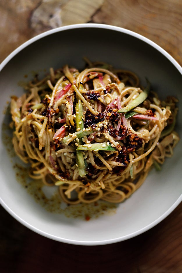 Cold Sichuan Sesame Noodles