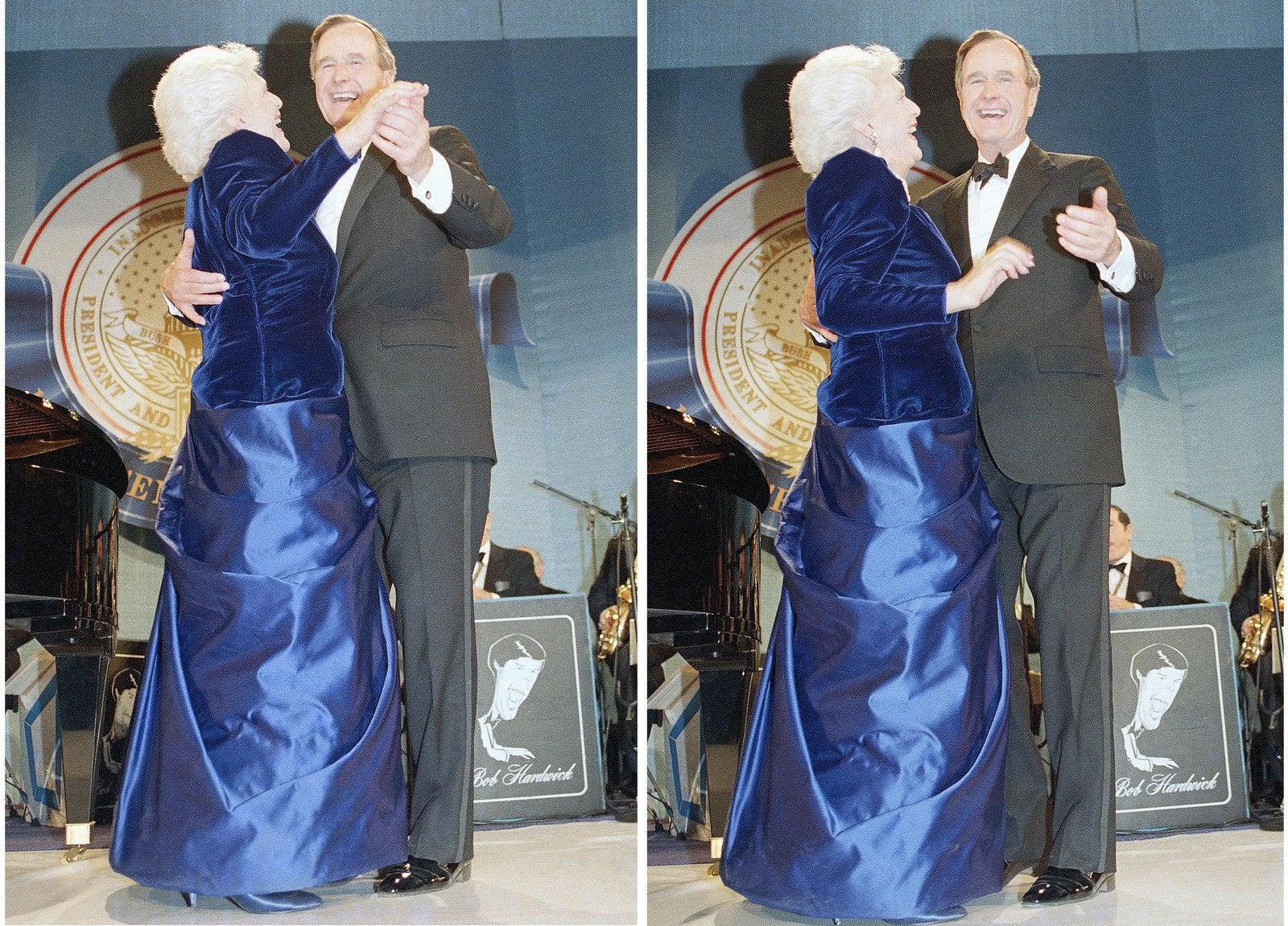 Barbara Bush Inaugural Gown 76674 Usbdata