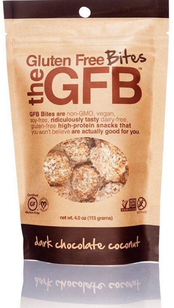 A tasty GF vegan snack bite in one of the best flavor combos out there – dark chocolate coconut. You're gonna love it.