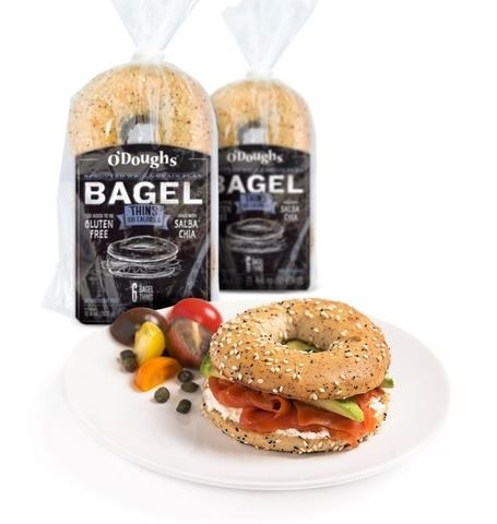 A six-pack of GF whole grain bagel thins because no one should live without bagels.