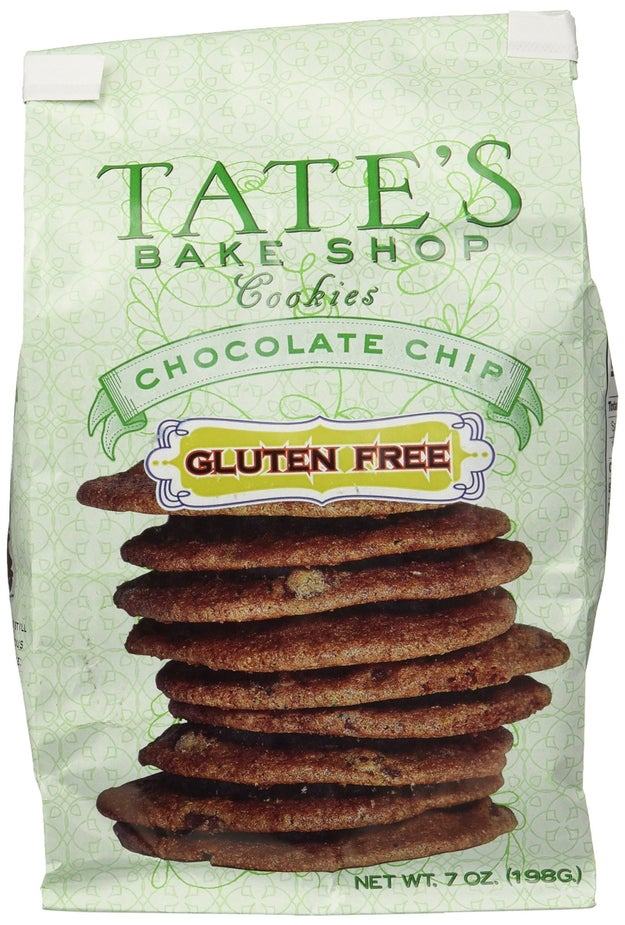 And a GF version of Tate's chocolate chip cookies with a serious crisp you are sure to adore.