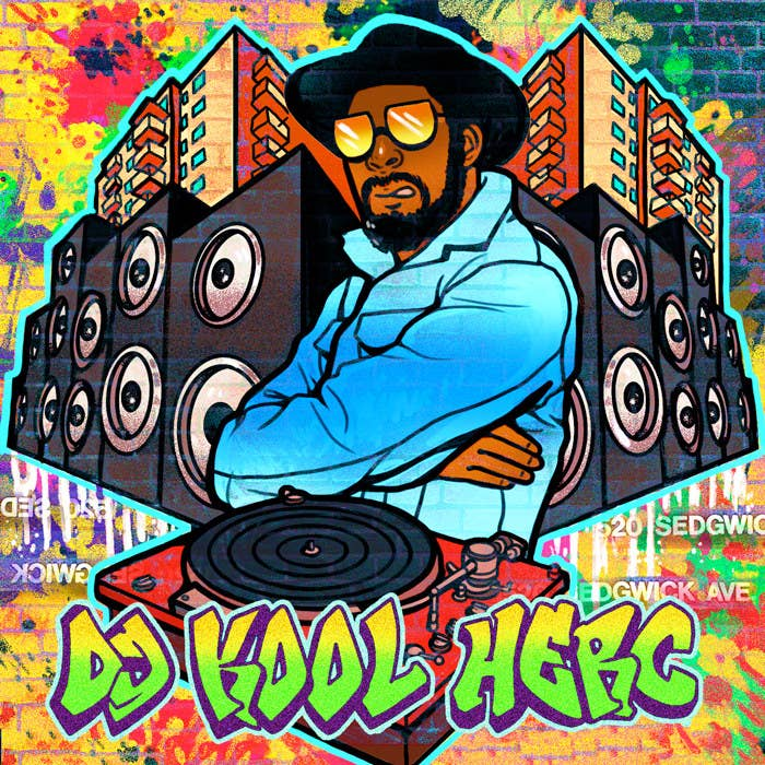 And it's all because of a man known famously now as DJ Kool Herc. At the fateful back-to-school jam hosted in the Bronx on Sedgwick Avenue on Aug. 13, 1973, DJ Kool Herc and a friend, Coke La Rock, started shouting out their friends' names over heavy percussive beats and isolated instrumentals, and thus was born the infectious sound that would transform popular music for decades to come.