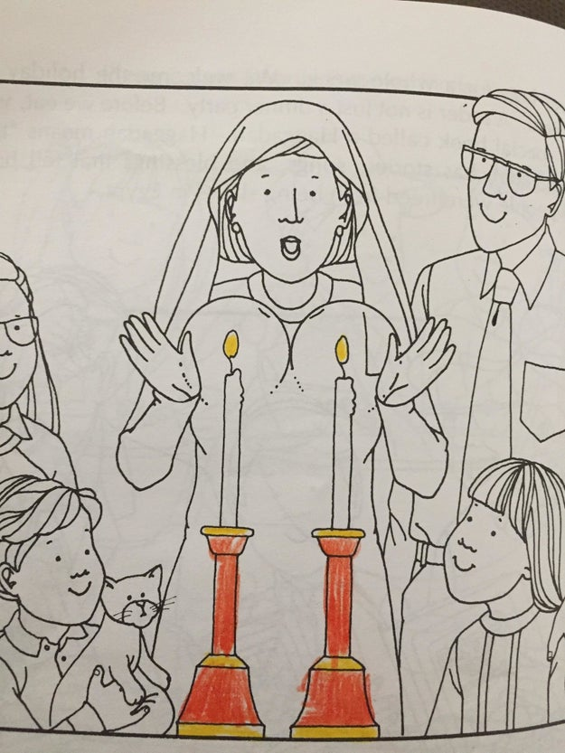 This religious coloring book:
