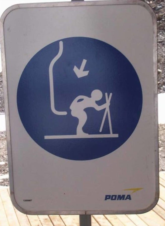 This ski lift with benefits: