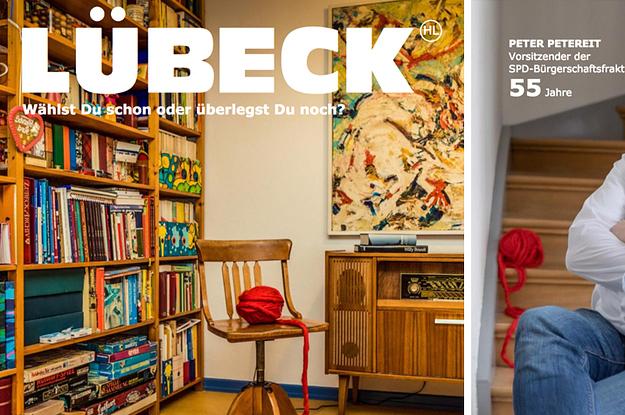 Lübecker SPD-Politiker stellen sich in einer Art IKEA-Katalog vor und IKEA findet es nicht so geil