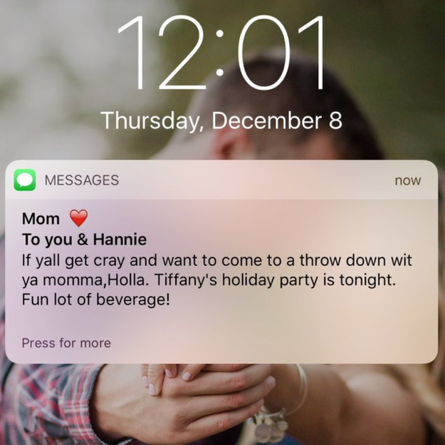 This mom who always has an open invite to hang out: