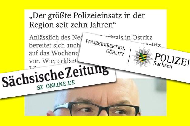 In Görlitz interviewt der Polizeisprecher seinen Chef einfach selbst - und die Sächsische Zeitung veröffentlicht es