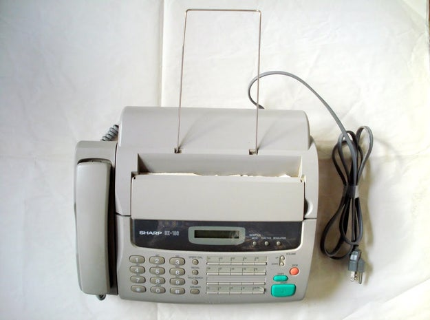 Dealing with sending and receiving faxes: