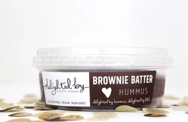 A vanilla bean dessert hummus to go with those pretzels. Sounds weird, but is apparently delish.