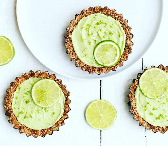 The most refreshing creamy dessert option? Key Lime Pie! Get the full recipe here.