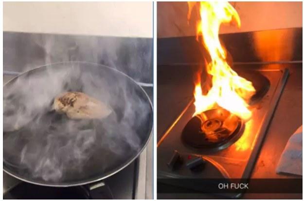 19 Fotos vom Kochen, die auch von dir sein könnten