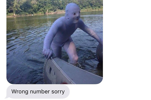 Funny Meme For Wrong Number : Wrong number texts that are part hilarious part cringe