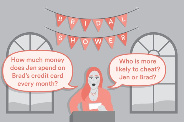 this story about a bridal shower will make you want to never get married