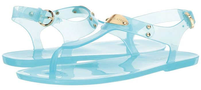 4cc367638 Clear jelly sandals to give you flashbacks to the  90s in the best way  possible.