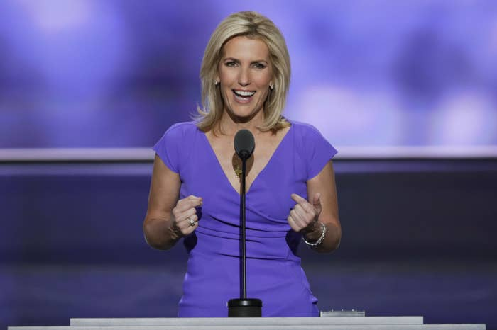 Conservative political commentator Laura Ingraham.
