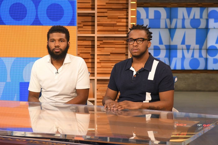 Rashon Nelson and Donte Robinson, the two men arrested at a Philadelphia Starbucks on April 12, appeared on Good Morning America on Thursday.