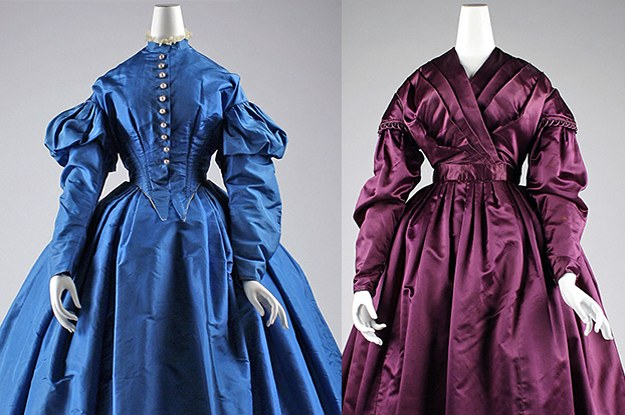 Do You Know Which Decade From The 1800s These Dresses Are From?