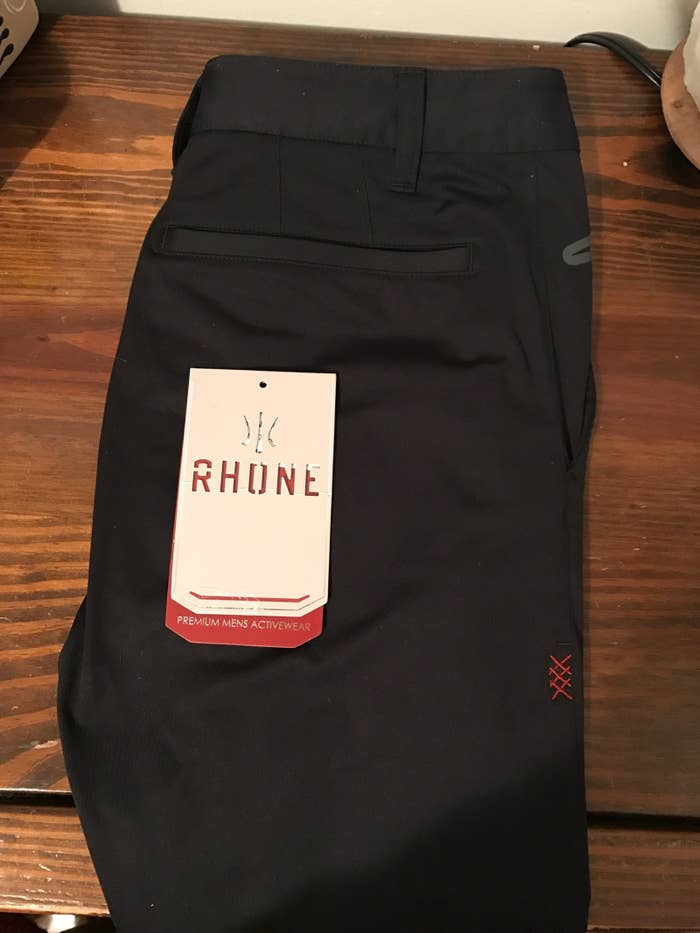 The stitch pattern on these pants is the work of a true genius. They fit true to size (I'm a size 28), and I don't have to worry about them riding up or down and ruining my life.