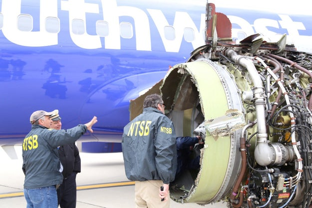Hundreds Of Planes Will Undergo Emergency Inspections After A Woman Was Killed On A Southwest Flight