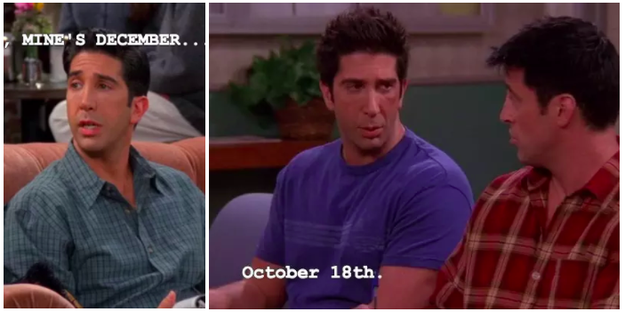 And, finally, their birthdays changing all the damn time.