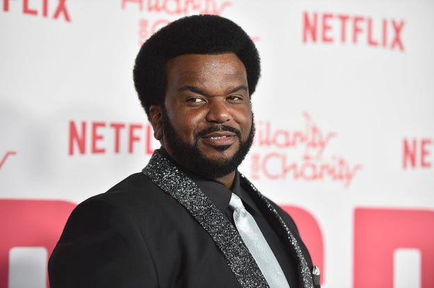 Craig Robinson: Ready for a reboot.