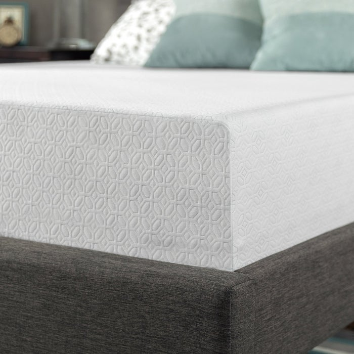 """Promising review: """"This was our first ever purchase of a gel/ foam mattress! My husband and I had the most amazing, solid sleep, PAIN FREE sleep ever in years!!! I don't want to get out of bed! It is sooo incredibly soft feels like sleeping on a cloud!! The best part I don't even feel any movement when he's tossing in his sleep!! THANK YOU ZINUS!! I LOVE YOU FOR THAT!"""" —nightowlGet the Zinus Gel-Infused Green Tea Memory Foam Mattress from Amazon for $265.99 or for five monthly payments of $53.20 (available in five styles and sizes).Read more about this specific mattress here or find The National Sleep Foundation's recommendations here."""