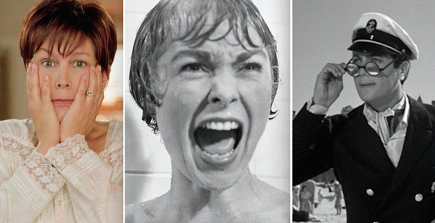 Jamie Lee Curtis is the daughter of Janet Leigh and Tony Curtis: