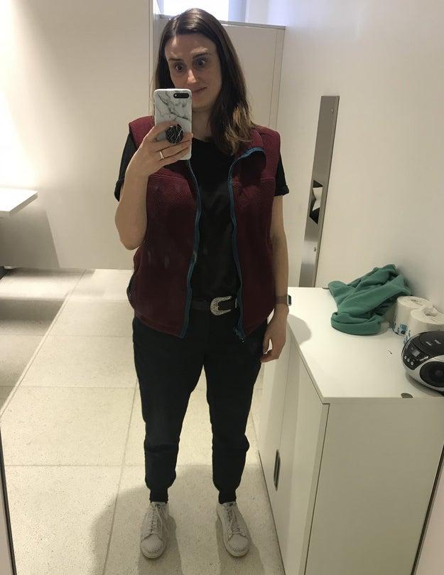 5a78fc5b730 I Wore A Fleece Vest To Work To See If I Felt Like A Tech Bro ...