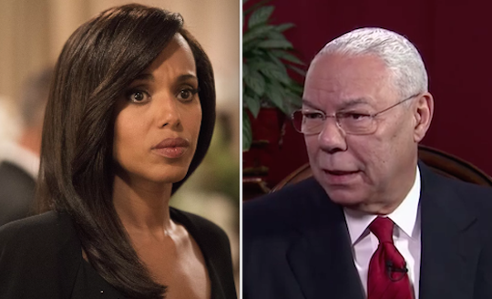Kerry Washington and Colin Powell are cousins: