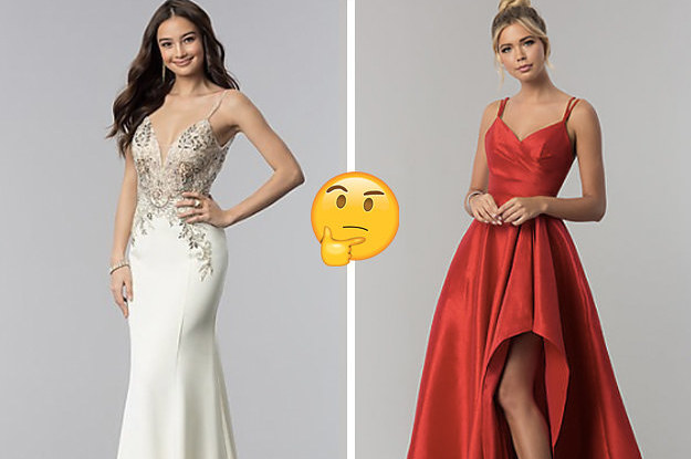 Which Prom Dress Should You Wear?