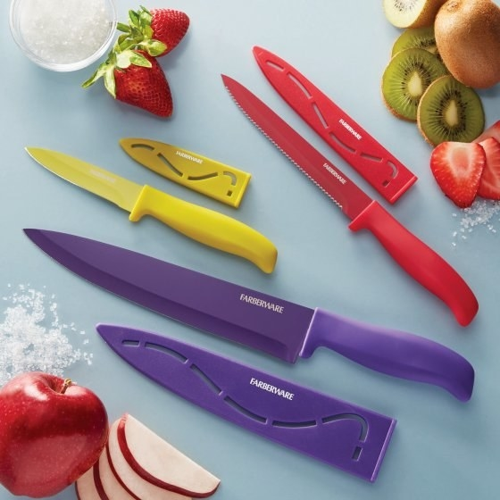 Colorful knives to make hue-ge difference in your cooking routine.